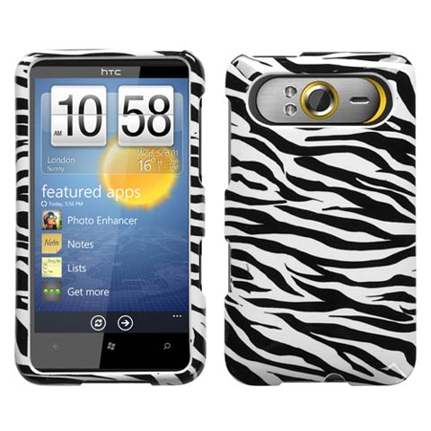 Zebra Hard Case for HTC HD7