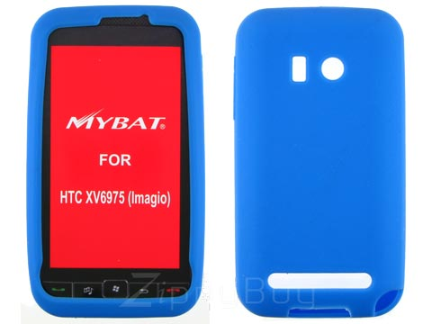 HTC Imagio Silicone Skin Cover Case - Blue