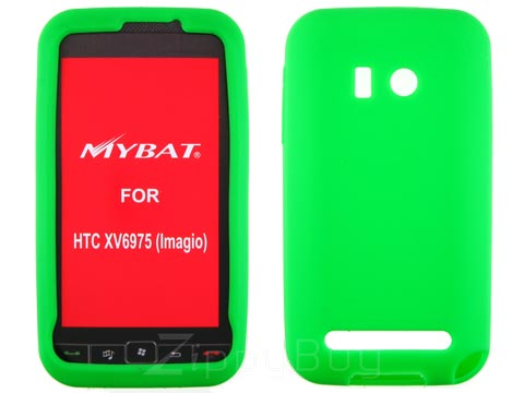 HTC Imagio Silicone Skin Cover Case - Green