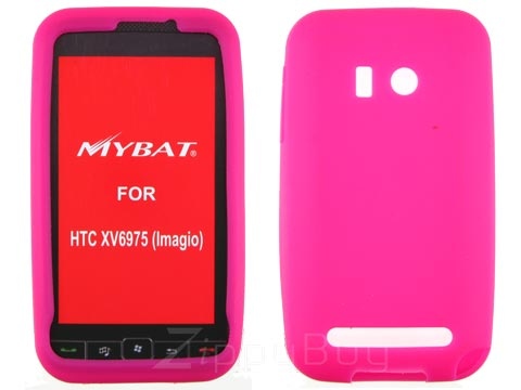 HTC Imagio Silicone Skin Cover Case - Hot Pink