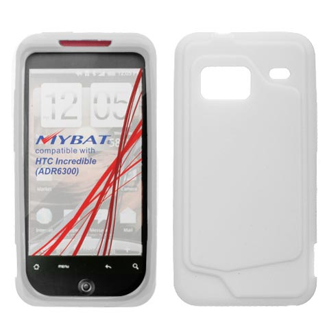 Frost White Silicone Skin Cover for HTC Droid Incredible
