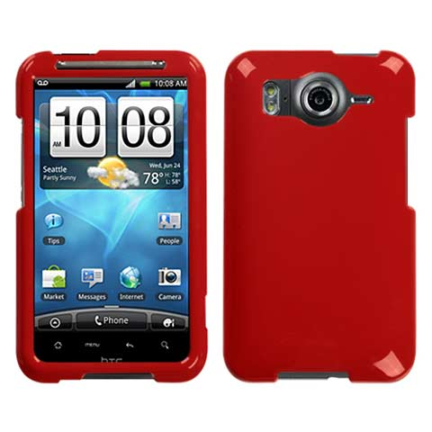 Red Hard Case for HTC Inspire 4G
