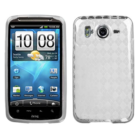 Frost Argyle TPU Case for HTC Inspire 4G