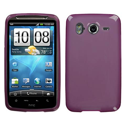 Purple TPU Case for HTC Inspire 4G