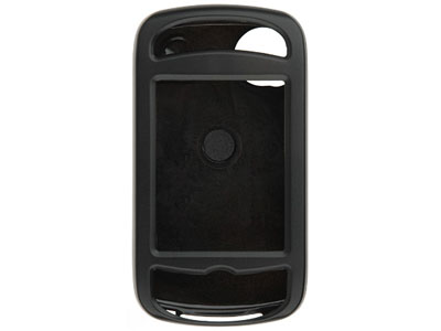 HTC Mogul XV6800 / PPC6800 Rubberized Snap On Faceplate Case (Black)