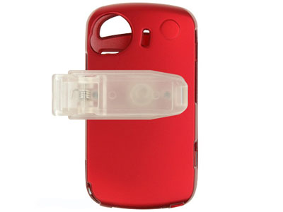 HTC Mogul XV6800 / PPC6800 Snap On Faceplate Case (Red)