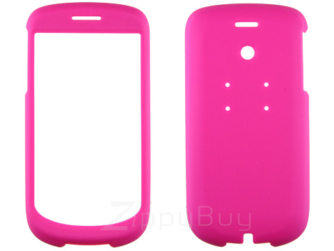 HTC myTouch 3G Rubberized Hard Cover Case - Pink
