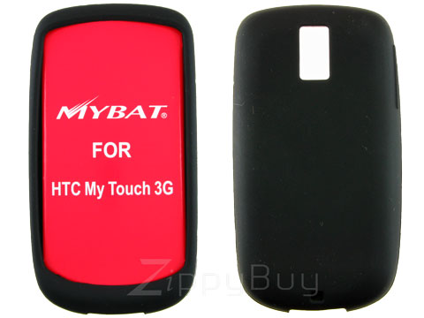 HTC myTouch 3G Silicone Skin Cover Case - Black