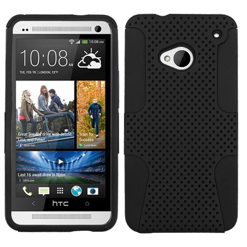 Black Hybrid Astronoot Case for HTC One