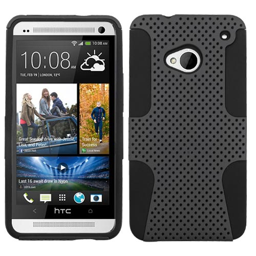 Grey Hybrid Astronoot Case for HTC One