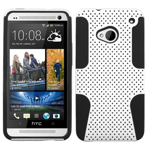 White Hybrid Astronoot Case for HTC One