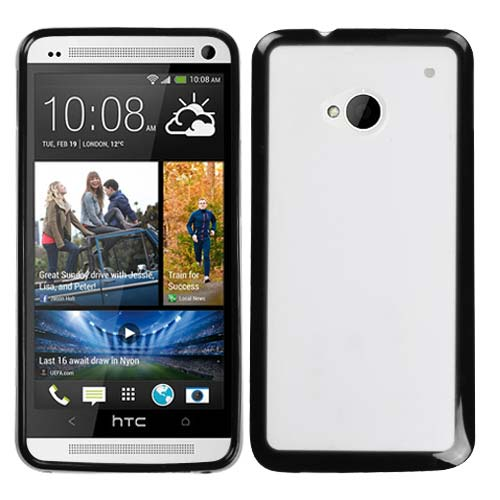 Black and Frost Fusion Cover for HTC One