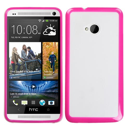 Pink Fusion Cover for HTC One