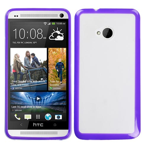 Purple Fusion Cover for HTC One