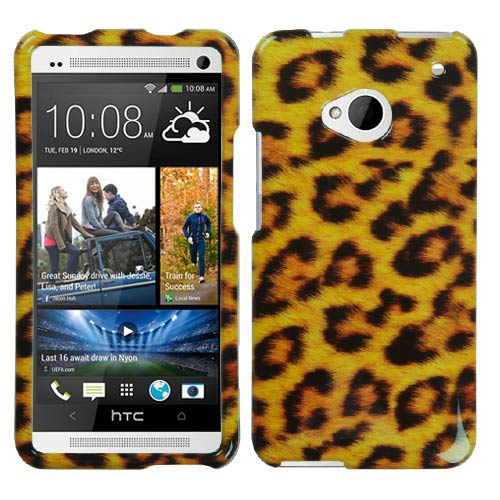Leopard Hard Case for HTC One