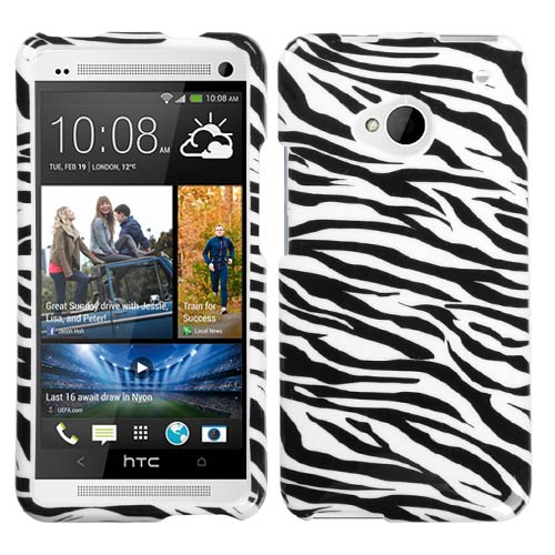 Zebra Hard Case for HTC One