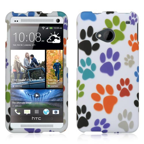 Paws Rubberized Hard Case for HTC One