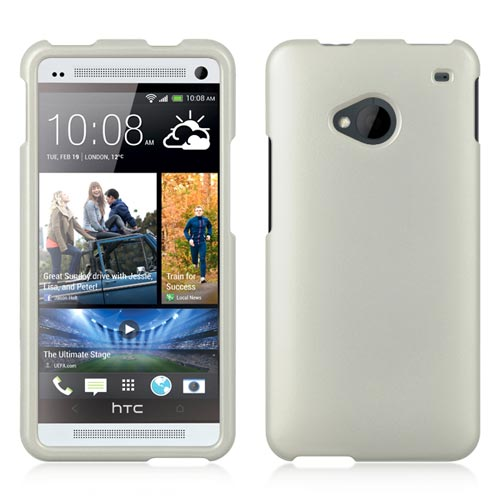 White Hard Case for HTC One