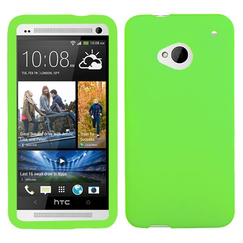 Green Silicone Skin Cover for HTC One