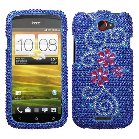 Enchant Crystal Rhinestones Bling Case for HTC One S