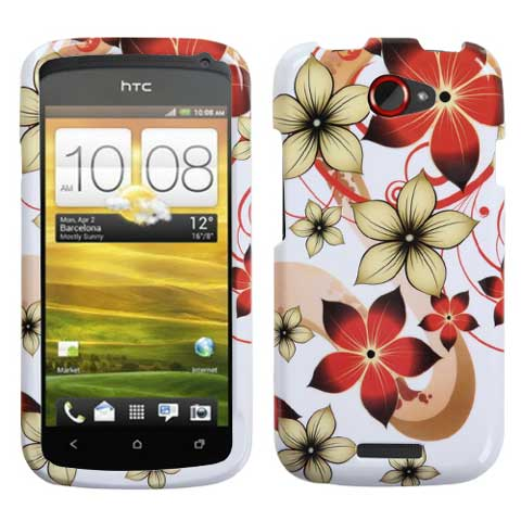 Hibiscus Hard Case for HTC One S