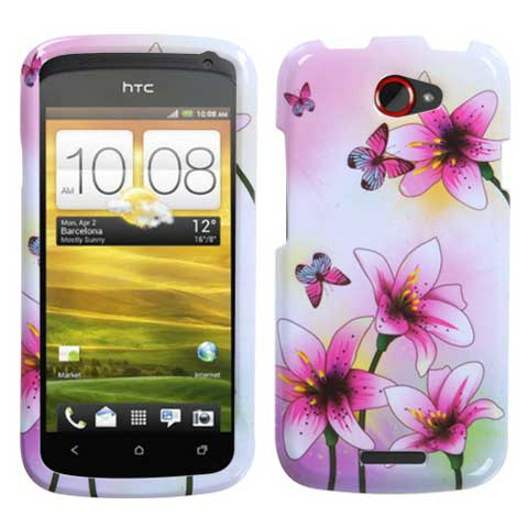 Lilies Hard Case for HTC One S