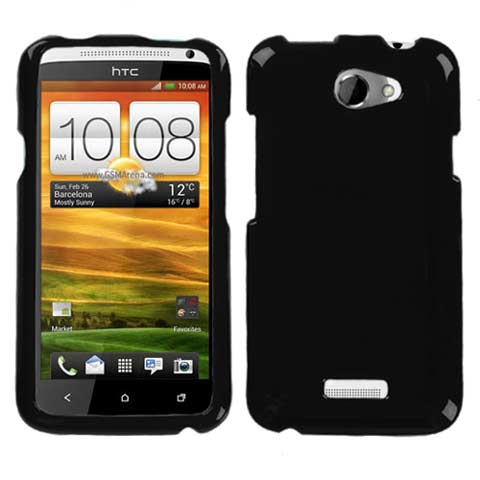 Black Hard Case for HTC One X