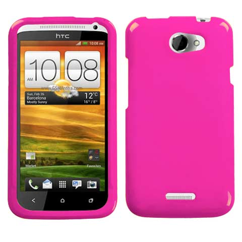 Pink Hard Case for HTC One X