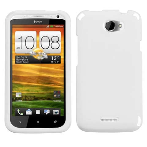 White Hard Case for HTC One X