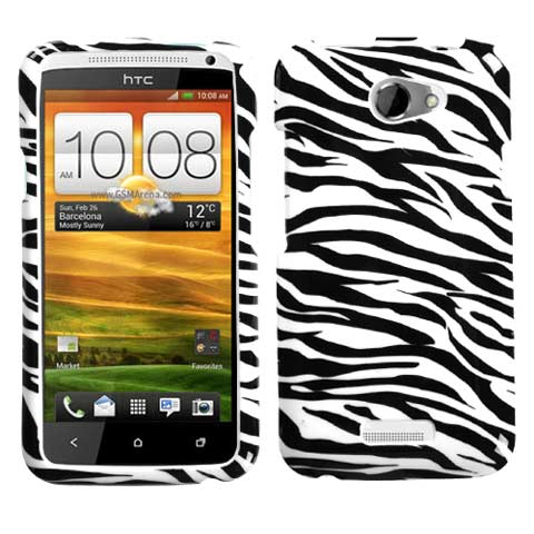 Zebra Hard Case for HTC One X