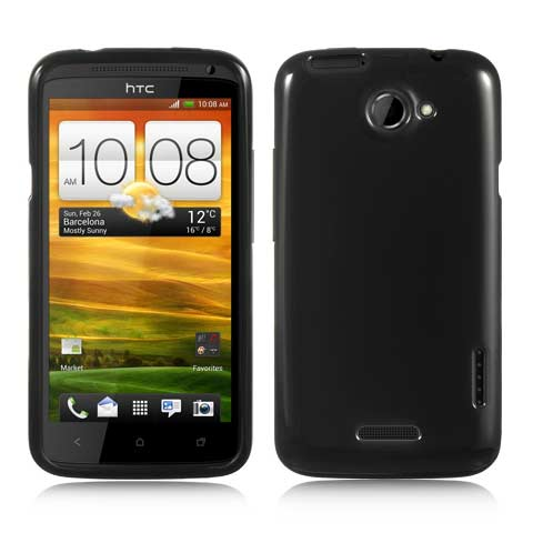 Black TPU Case for HTC One X