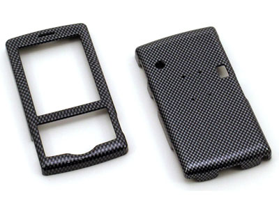HTC Shadow Snap On Faceplate Case (Carbon Fiber)