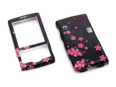 HTC Shadow Snap On Faceplate Case (Flowers of Love)