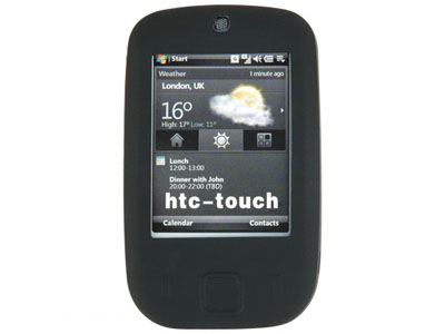 HTC Touch (CDMA) Silicone Skin Case (Black)