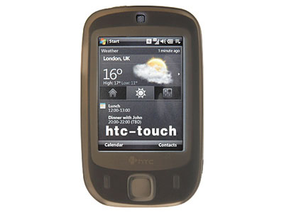 HTC Touch (CDMA) Silicone Skin Case (Smoke)