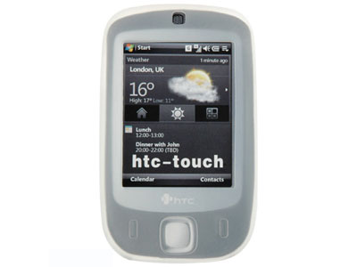 HTC Touch (CDMA) Silicone Skin Case (White)