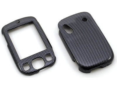 HTC Touch Snap On Faceplate Case (Carbon Fiber)