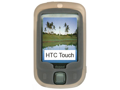 HTC Touch (GSM) Silicone Skin Case (Smoke)