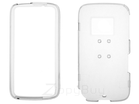 HTC Touch Pro 2 (T-Mobile) Hard Cover Case - Clear