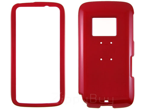 HTC Touch Pro 2 (T-Mobile) Hard Cover Case - Red