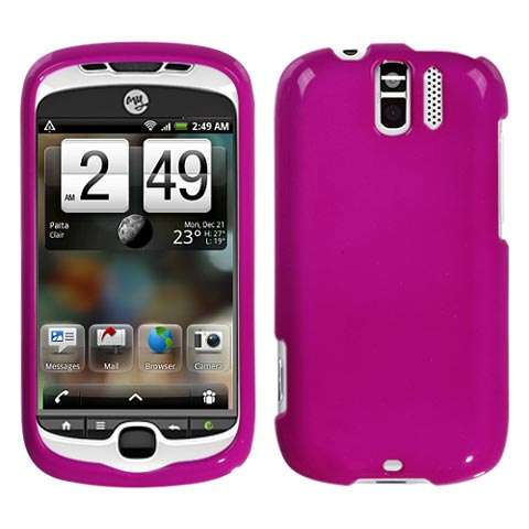 Hot Pink Hard Case for HTC myTouch 3G Slide