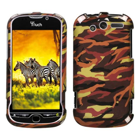 Brown Camouflage Hard Case for HTC myTouch 4G