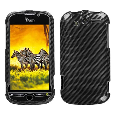 Carbon Fiber Stripes Hard Case for HTC myTouch 4G