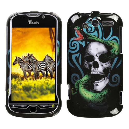 Snake Skull Hard Case for HTC myTouch 4G