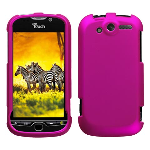 Hot Pink Rubberized Hard Case for HTC myTouch 4G
