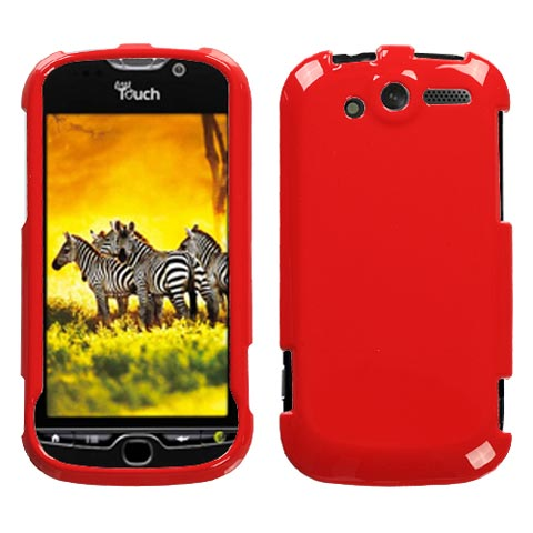 Red Hard Case for HTC myTouch 4G