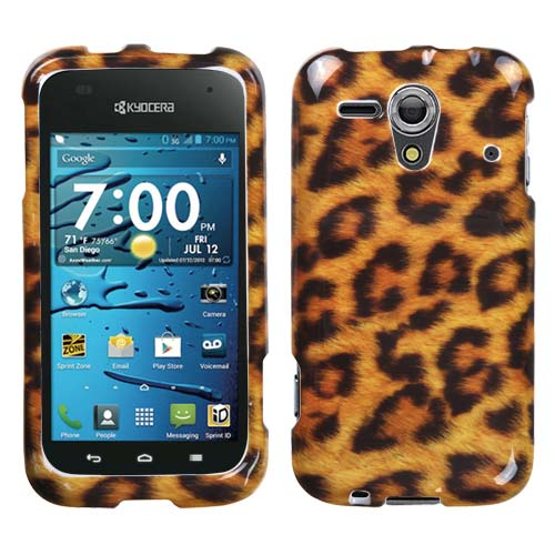 Leopard Hard Case for Kyocera Hydro Edge