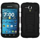 Black Lightspeed Dual Layer Hybrid Case for Kyocera Hydro Edge