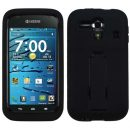 Black Symbiosis Dual Layer Hybrid Case for Kyocera Hydro Edge