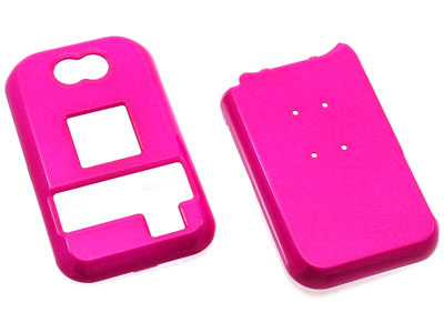 Kyocera Tempo E2000 Snap On Faceplate Case (Hot Pink)